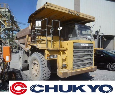 < SOLD OUT > Used Komatsu HD325 -6 Japanese Dumper Truck For Sale