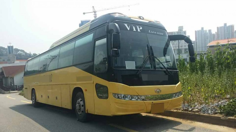 2006Y used Daewoo Bus BH119 good price FOR SALE in Korea