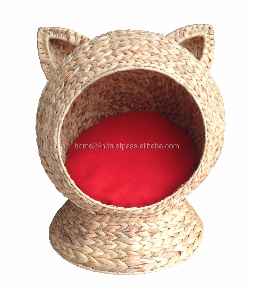 HOT PRODUCTS -Water hyacinth beautyful Cat house, Cat pet, Dog House & Dog Bed.