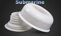 Submarine SQ-2 rubber odor-proof sealing plug for sewer pipe