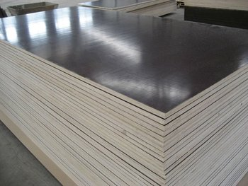 WOOD FOR CONSTRUCTION USING FILM FILM FACED DARK FACED PLYWOOD