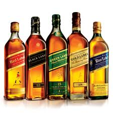 JOHNNIE WALKER RED LABEL/BLACK LABEL/DOUBLE BLACK/GOLD LABEL