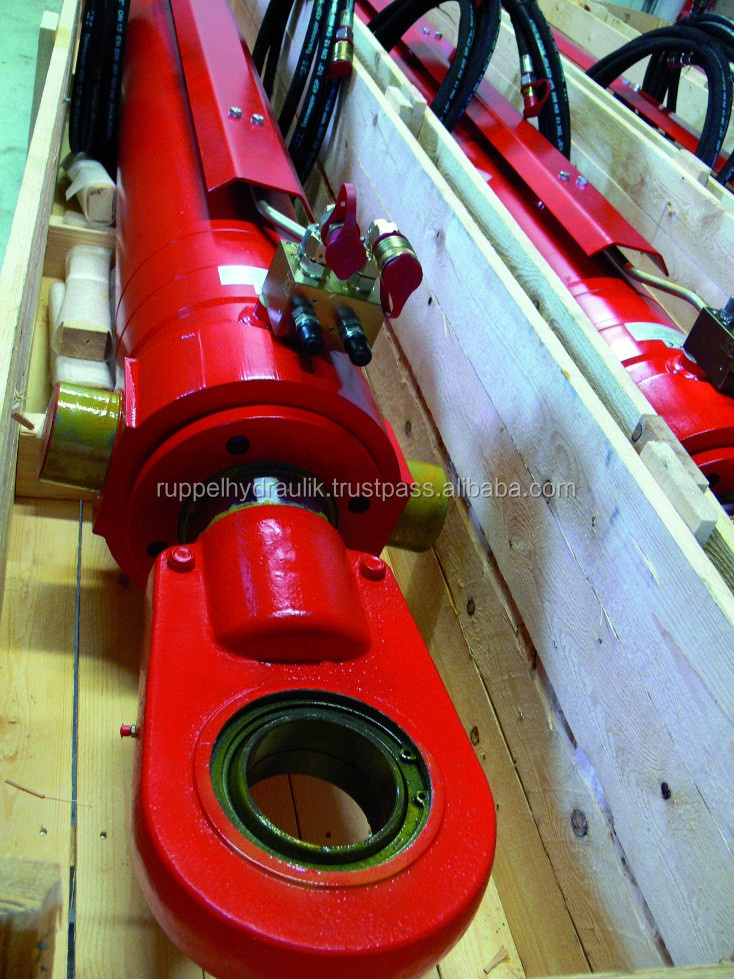 Hydraulic cylinder simple or inclusive special valves, control blocks or complety hydraulic power units for every application