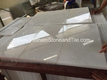 Vietnam Cheap Snow White Marble Tile, Marble 24x24 tiles