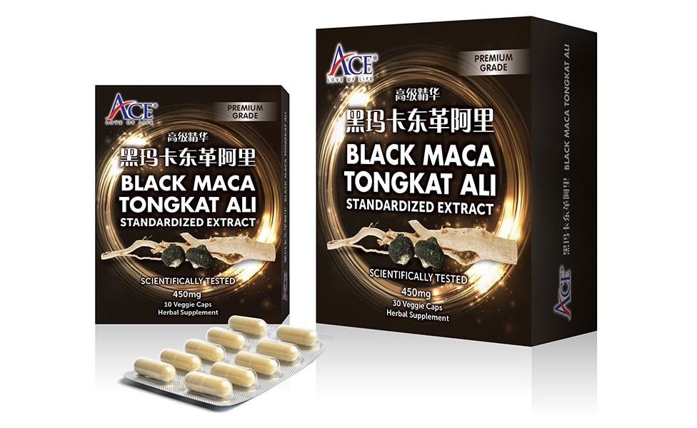 Black Maca Tongkat Ali