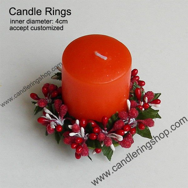 Candle Rings for Christmas decoration wreath