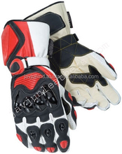 Sports Racing Leather Motorcycle Motorbike Gloves