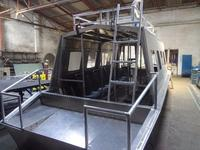 Custom built aluminum boats and Airboats