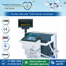Puritan Bennett 7200 Series Ventilator for Ventilatory Support in Hospital