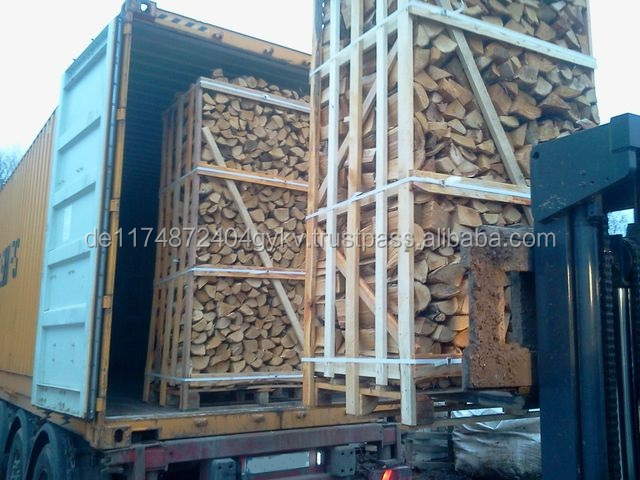 firewood on pallets (oak, beech, Ash) for Europe