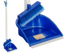 dustpan and broom set with long handle (cleaning set)
