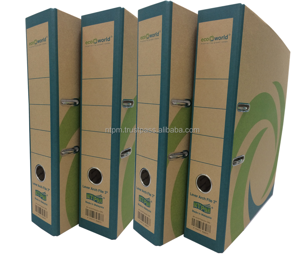 Eco-World Paper Lever Arch File