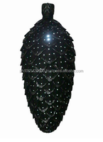 Christmas Decor Pine cone with LED lighting