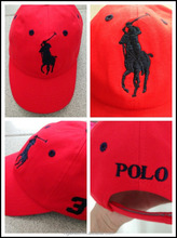 Polo sport cap for kids with character embrodery