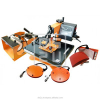 HEX MAC 5 COMBO 5 IN 1 SWING AWAY HEAT PRESS MACHINE