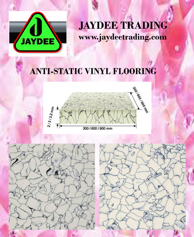 ANTI-STATIC VINYL TILES / RAISED FLOORING