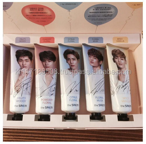 The Saem Perfumed Hand Cream Set_Shinee Edition