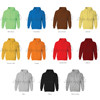 Apparel Stocklots Jacket With Hoody Bright