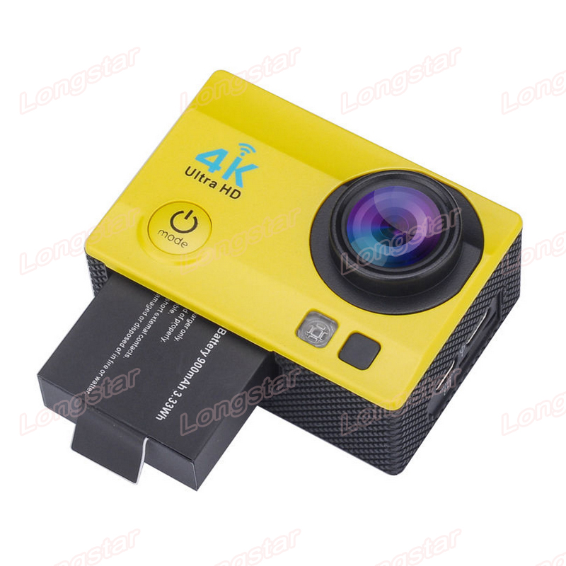 Trade Assurance Sports Camera 4K 2015 New 4K Wifi Action Camera 2-inch Screen 1080p 60fps YM-Q3H