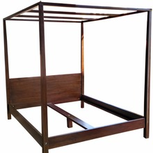 Teak wood Canopy Bed