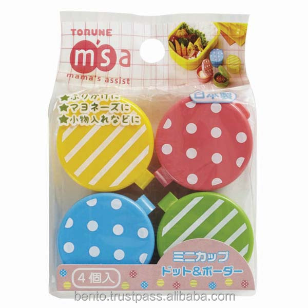 Small Japanese design tupperware containers with cute design