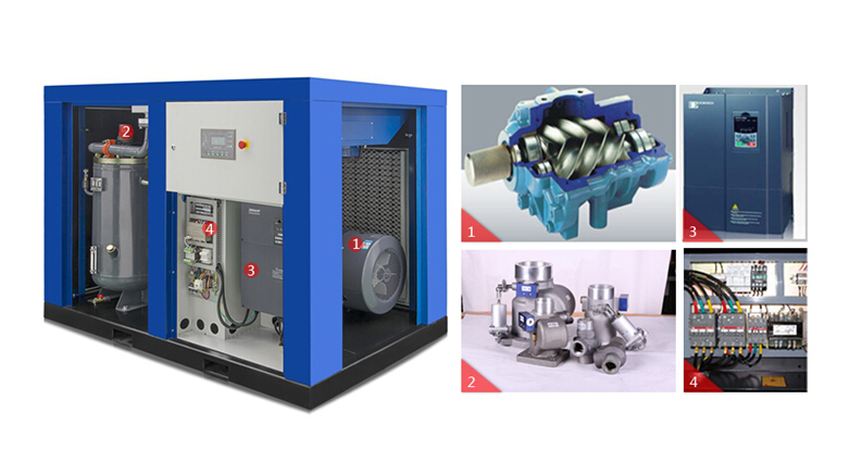 Energy Saving Variable Frequency Air Compressor