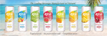 Manufacturer tropical Rita beverge fruit juice drink