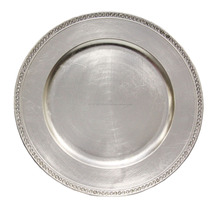 Stainless Steel Wedding Food Charger Plates