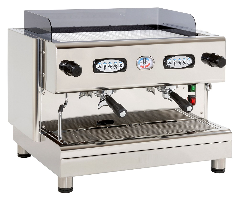 Made in Italy 969 Commercial espresso coffee machine Steel - 2 groups