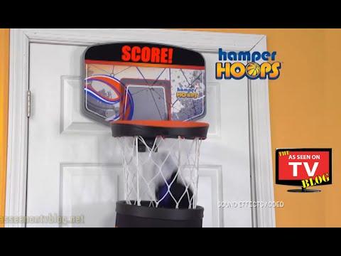 Get Quotations · Hamper Hoops As Seen On TV Commercial Buy Hamper Hoops As  Seen On TV Basketball Hoop