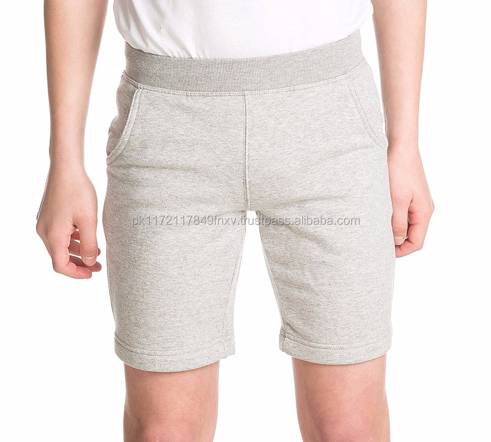 Hot Sell Men Fleece Sweat Shorts Custom Size Men Fleece Sweat Shorts