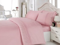 100% COTTON SATIN BEDDING SET MADE IN TURKEY