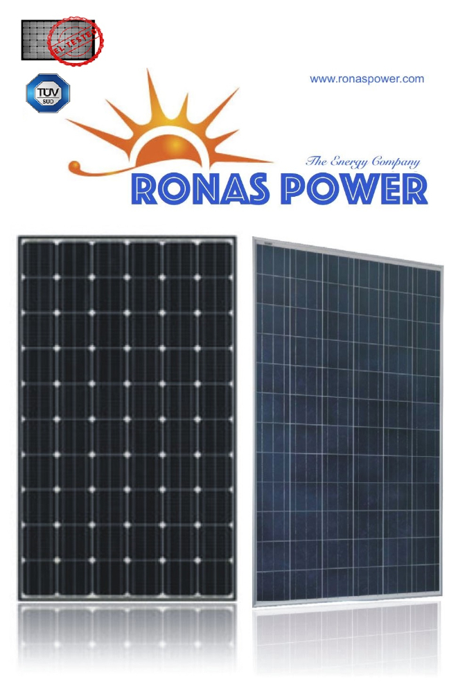 100W Mono and Poly Solar Panel