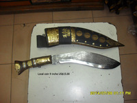 Gurkha Knife,100% handmade Traditional knife of Nepal