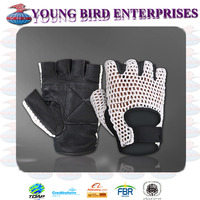 CROCHET LEATHER MOUNTAIN BIKES CYCLING MOTORCYCLE GLOVE