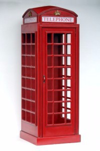 British Phone Booth Life Size