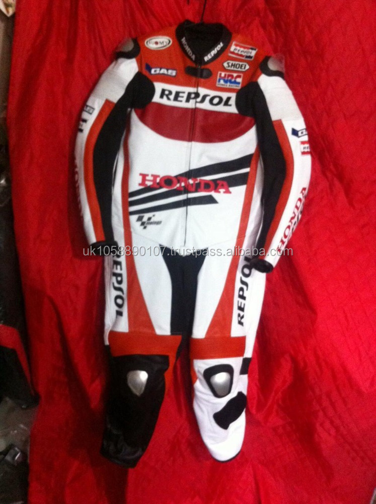 Motorbike racing suit/Biker racing suit Piece Suit kids and adult leather suit