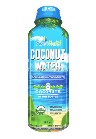 Coconut Water Concentrate in Bottle