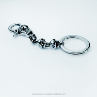 Wholesale High quality silver 925 key chains OEM and ODM hot sales