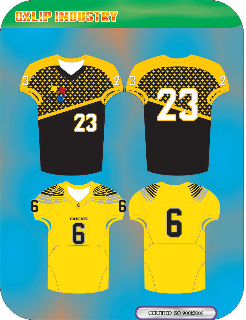 AMERICAN FOOTBALL CUSTOM TEAM NAME AND DESIG HOME UNIFORM