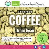 Green Bean Coffee - AA Grade - Peru