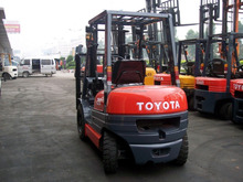 Cheap Price Second Hand Japan Origin Toyota 7FD30 3 Ton Used Forklift