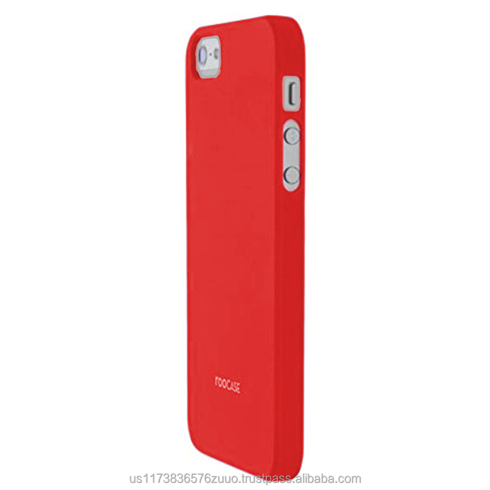 S1-R series Ultra slim shell case with polyurethane matte coating for iPhone 5/5s (not compatible with 5c) roocase (Red)