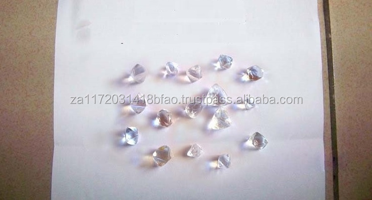 %100 Rough Uncut Diamonds For Sale With Good Qualities