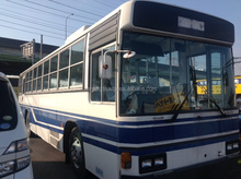 USED CITY BUS HINO DIESEL BUS (MODEL : KC-HT2MPCA, ENGINE : M10U) IN GOOD CONDITION