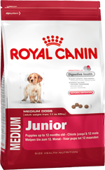 Royal Canin Medium Junior dog food for puppies and young dogs of medium-sized breeds (11 - 25kg)
