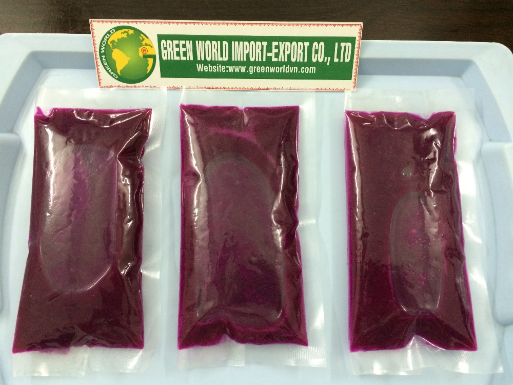 ORGANIC PINK PITAYA PUREE - 100% PURE - delicious, rich vitamin for sale now