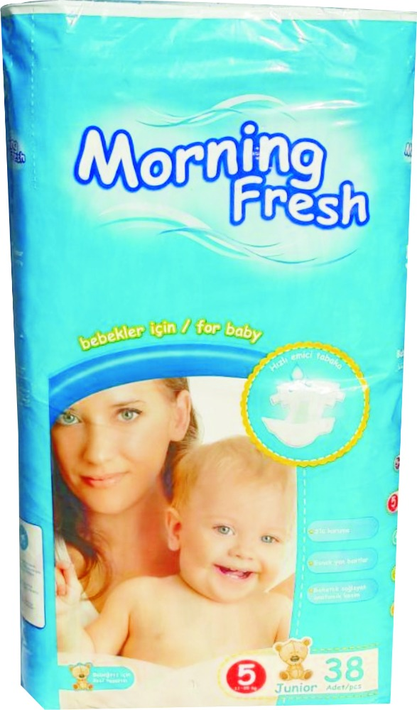 morning fresh diapers