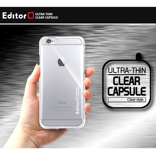 10005 For Galaxy S6 S5 S4 S3 Ultra Slim Editor Ultra-Thin Clear Capsule TPU Jelly Smart Cellular Mobile Phone Case Cover Casing