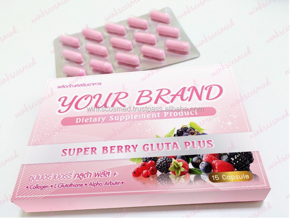 Best Quality glutathione with collagen capsule OEM available
